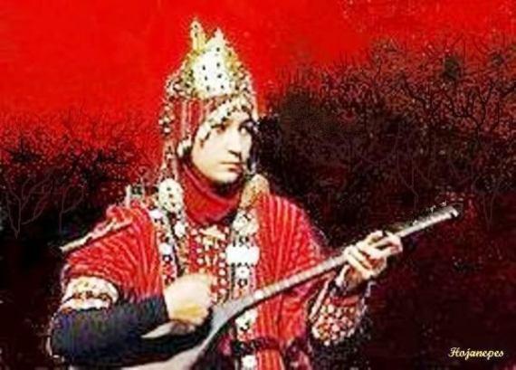 Turkmen Singer Bagshy