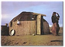 The turkmen old house