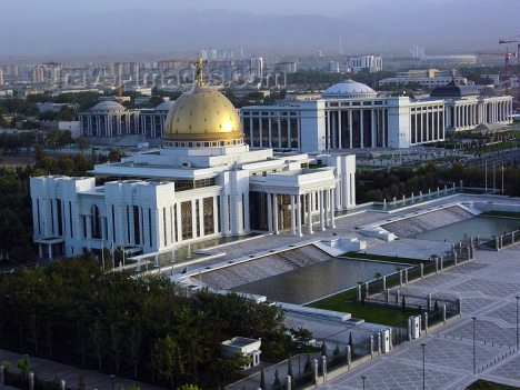 Capital city of Turkmenistan - Ashgabat