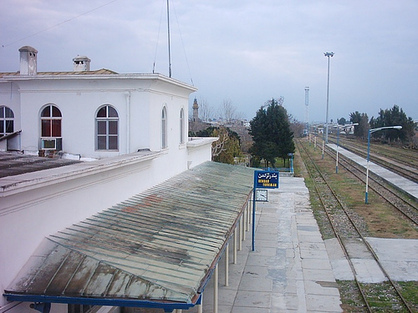 RAILROAD STATION in Benderturkmen
