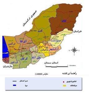 Turkmensahra map