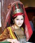 Traditional Turkmen Lady