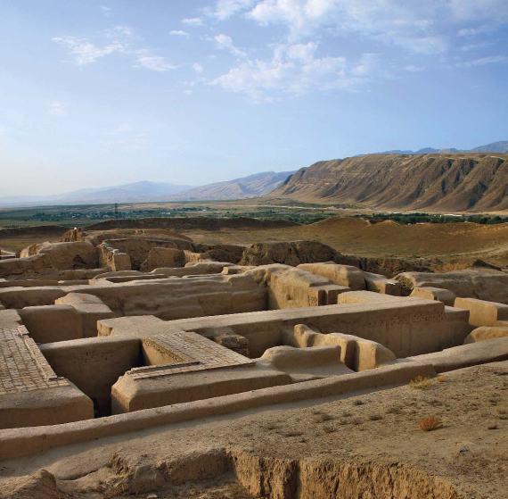 آخرین کاوشها و بازسازی ها در قلعه نساء-اشک آباد ترکمنستان
