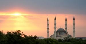 Ertugrul Gazi Mosque in Ashgabat - Turkmenistan