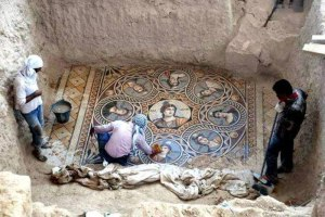 Ancient mosaics discovered in ancient Greek city of zeugma